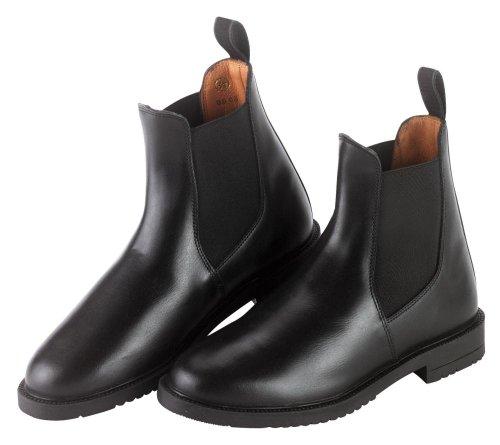 Covalliero 327518 Reitstiefelette, schwarz (black) Leder, Gr. 43