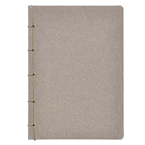 Cuadernos de redacción B5 Página en Color en Blanco Libro con Revestimiento Antiguo Estilo Chino Cuaderno de Viento Bloc de Notas Clásico Retro Papelería Diario Blocs y Cuadernos de Notas