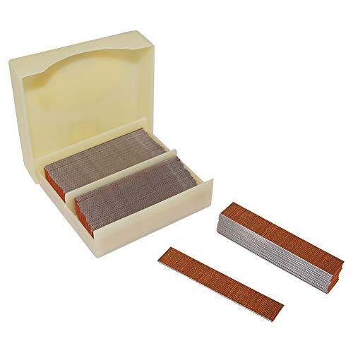 China-top Silver P612 23 Gauge 1/2-inch Length Pinner Nails Pin Nails Headless Pins 10,000 PCS/BOX