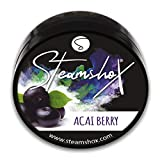 SteamshoX® Baya de Açaí - Piedras de vapor para cachimba shisha narguile - Sustituto de tabaco sin nicotina