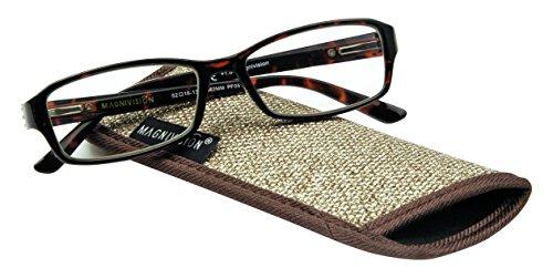 Magnivision Foster Grant Reading Glasses, Alana, Strength 2.0