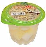 セイウ 果実の恵み パイン&ナタデココゼリー 250g