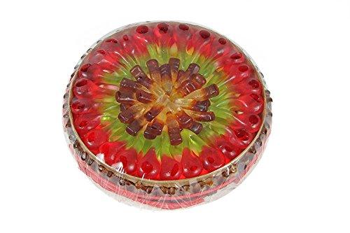 Fruchtgummi-Torte, Kirsch-Cola Torte, Cola-Flaschen, Amaretto-Kirsche, Marsh-Mallow, Geburtstagstorte, 630g