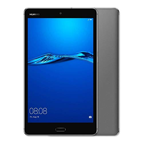 HUAWEI 53019354 MediaPad M3 Lite 8 – 8' Android 7.0 Tablet, FHD IPS Display with Eye-Comfort Mode, 32GB, 8MP Front and Rear Camera, 4800mAh, Children's Corner, Grey (Renewed)