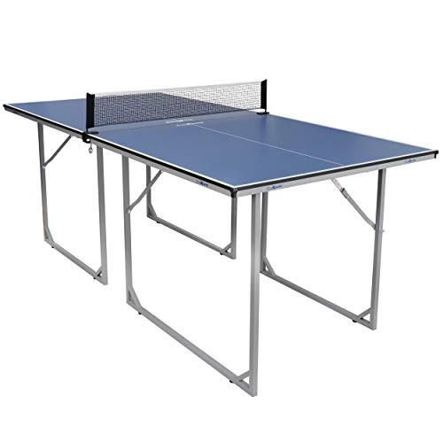 ZENY 6ft Foldable Table Tennis Table with Net/Posts Portable Ping...