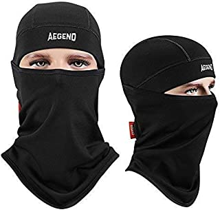 Balaclava Windproof Ski Face Mask Winter Motorcycle Neck Warmer Tactical Balaclava Hood Polyester Fleece for Women Men Youth Snowboard Cycling Hat Outdoors Helmet Liner Mask, 1 Piece