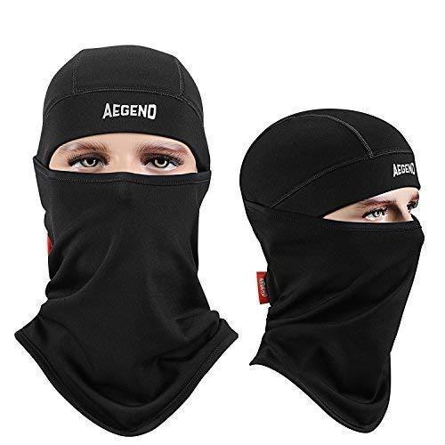 3a83c17f74 Aegend Balaclava Windproof Ski Face Mask Winter Motorcycle Neck Warmer  Tactical Balaclava Hood Polyester Fleece for