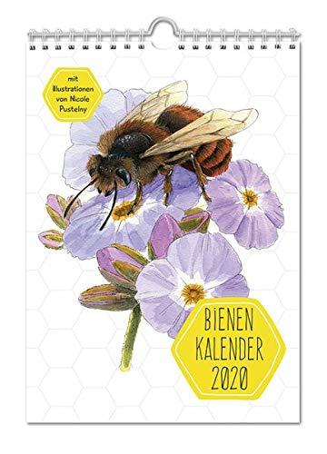 Bienenkalender 2020: mit Illustrationen von Nicole Pustelny