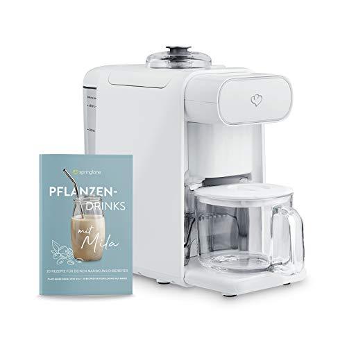 Machine à lait d'amande Mila, presse à lait végétal électrique, vegan milker, ustensile pour la préparation de boissons végétales à base de soja et de noix - 0,6 litres