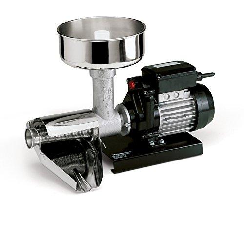 Reber Spremitore Elettrico per Passata di Pomodoro e Marmellate, 400 W, 70-140 kg/h 28x39x39cm