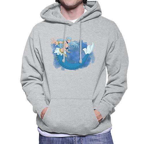Cloud City 7 Fairy Tail Aquarius Men's Hooded Sweatshirt