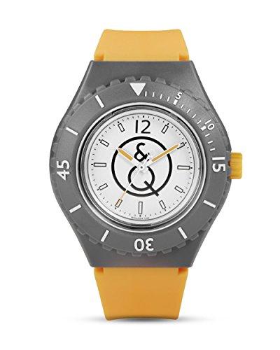 Q&Q - Quest & Quality Unisex-Armbanduhr 20Bar Series Analog Quarz Resin RP04J004Y