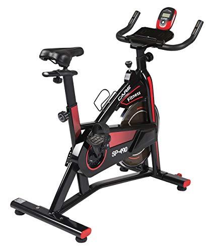 Care Fitness - Spinning Rad für zu Hause Spibike SP-490 - Komfortabel und leise - Heimtrainer Fahrrad, Indoor Speedbike, Ergometer Trainingsgerät
