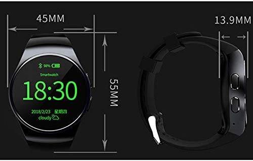 Armbanduhr Smartwatch Mechanische Uhren Saphir Uhr Quarzuhr mit Student Smart Uhr Beweglichen Telefonkarte Handy-Karte Multifunktions Erwachsenen Männern und Frauen Sport Herzfrequenz Runde Touchscre