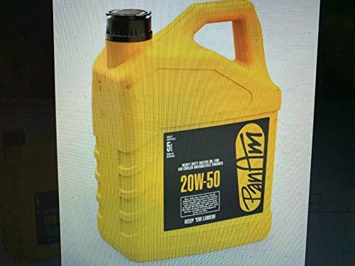 Bidón de 5 litros de aceite de motor PanAm 20 W 50 mineral, para moto Harley Davidson