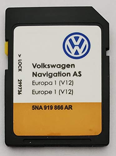 SD Karte Europe - Navigation AS - VW Discover Media 2 MIB2 - v12-5NA919866AR