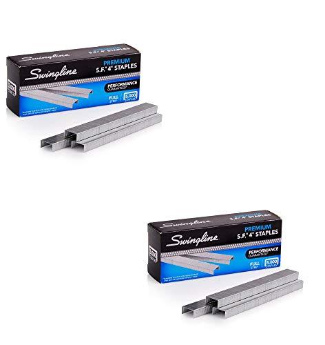 Staples, S.F. 4, Premium, 1/4 inches Length, 210/Strip, 5000/Box, 2 Pack (35450)