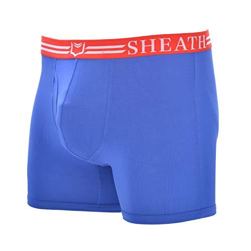12. SHEATH Men's Dual Pouch Underwear Boxer Briefs