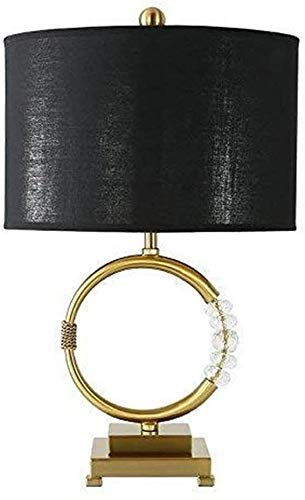 nakw88 Nordic Creative Semplice Fashion Decorative Crystal Dorato LED Luce Modular Room Soggiorno Camera da Letto Desk Lampada da Tavolo 42 * 55 Lampada da scrivania