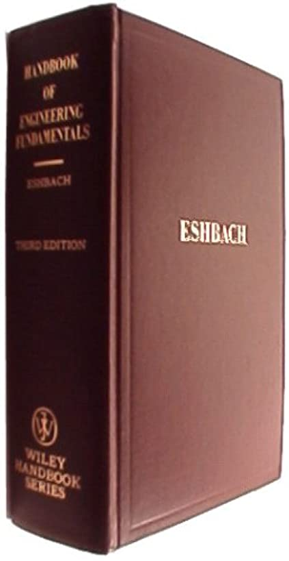 Handbook of Engineering Fundamentals, (Wiley engineering handbook series)