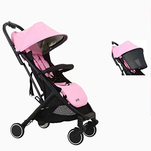 Affordable Pushchair Can Sit On A Reclining Folding Portable Stroller, One-Handed Folding, Can Be Ca...