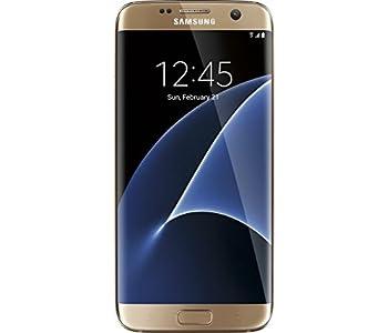 Samsung Galaxy S7 Edge Smartphone - GSM Unlocked - 32 GB - No Warranty - Gold