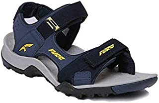 FURO by Red Chief Black Men's All Season Sandals