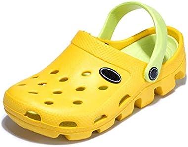 Easy-S-E-H Clogs Mules Eva Flip Flops Beach Garden Shoes Breathable Sandals