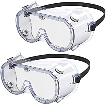 2-Pack Afanty Anti-Scratch Safety Goggles