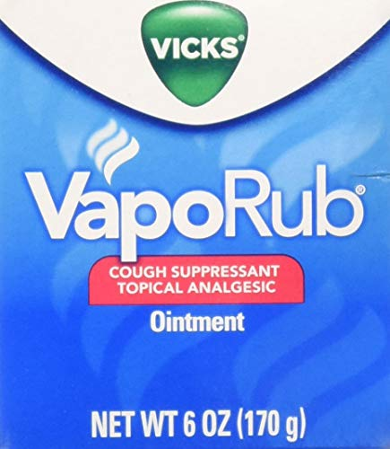 Vicks VapoRub Ointment, 6 Ounce