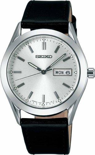 [セイコーウォッチ] 腕時計 スピリット スピリットスマート2 クオーツ ハードレックス SCEC023 ブラック