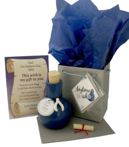 Jemsideas Geschenk und Karte zum 45. Hochzeitstag, personalisierbar, Aufschrift