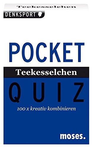 Pocket Quiz Teekesselchen: 100 x kreativ kombinieren (Pocket Quiz / Ab 12 Jahre /Erwachsene)