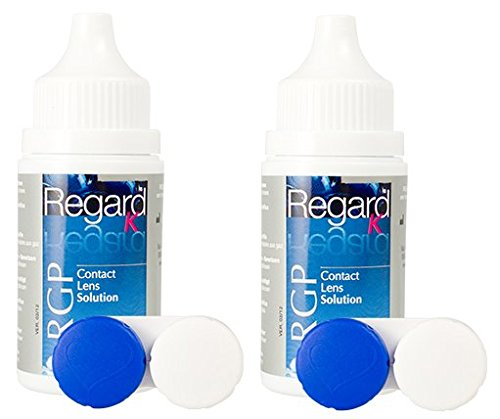 Regard RGP - Reiseset - 2 x 40ml Kombilösung für alle harten Kontaktlinsen