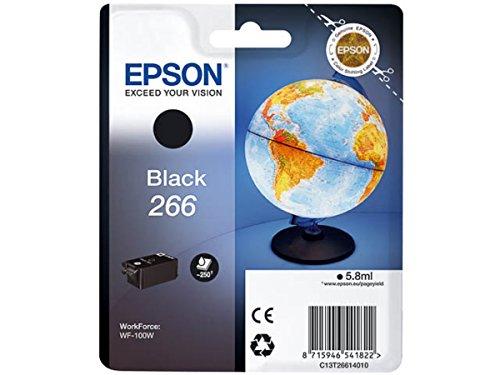Epson original - Epson WorkForce WF-100 W (266 / C 13 T 26614010) - Tintenpatrone schwarz - 260 Seiten - 5,8ml