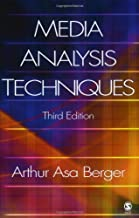 Best asa berger media analysis techniques Reviews