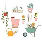 Sizzix Set de Troqueles Thinlits 23 pzas 664379 Cobertizo de jardín by Sophie Guilar, multicolor, Talla única