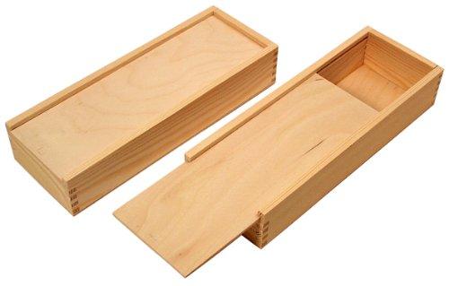 Großes Schubkistchen aus Holz | Holzkiste, Holzbox, Holztruhe