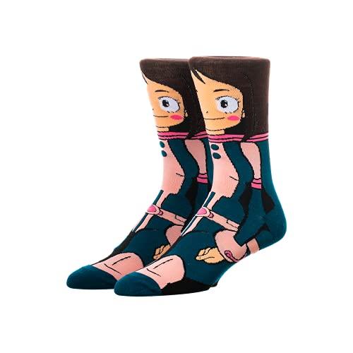 My Hero Academai Ochako Crew Socks