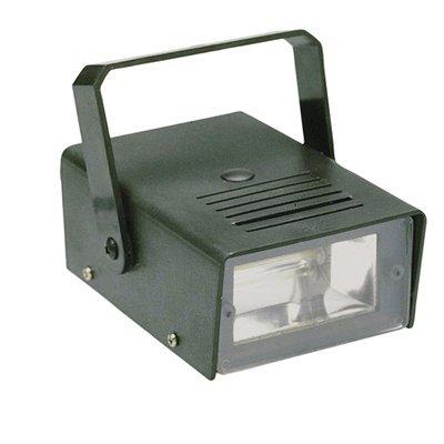 Black 14W Mains Powered Mini Disco Party Flashing Strobe Light G011D