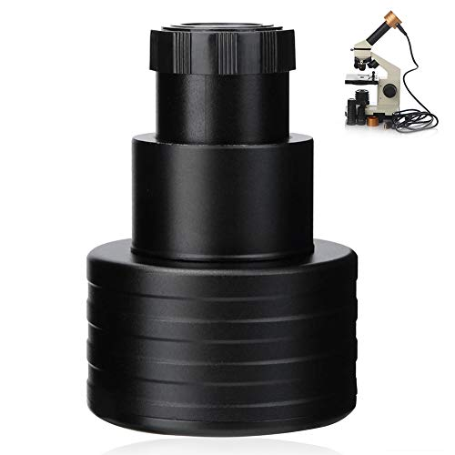 Oumij Electronic Digital Eyepiece,1.25 Inch 5MP USB PC Camera Electronic Eyepiece,for Astronomy Telescope/Microscope (Black)