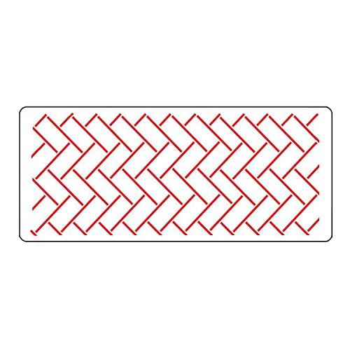 Cozylkx - 2 Plantillas para decoración de Pasteles, Encaje Hueco en Relieve, Plantillas para Hornear Pasteles, Molde de Encaje para decoración de Pasteles, 32x13,6 cm