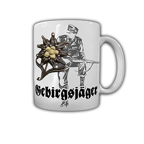 Gebirgsjäger Veteran Alpen Edelweiss Heer GebJg Jäger 98k Kaffee #27779