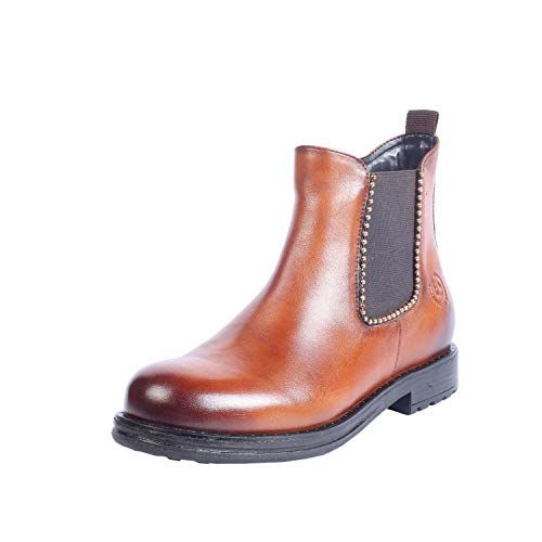 Bugatti 431-80631-4100 Janika - Dames schoenen laarzen - 6300-cognac, Maat: 41 EU