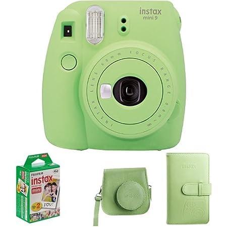 Fujifilm Instax Mini 9 Geschenkset Lime Grün Kamera