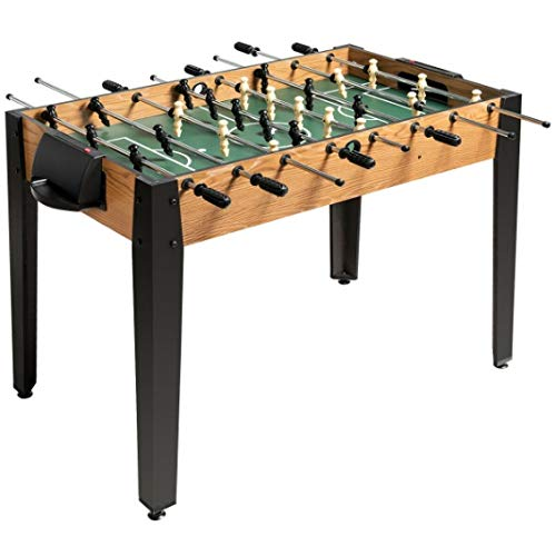 Brown Foosball Table Soccer Game Table Arcade Game Table 2...
