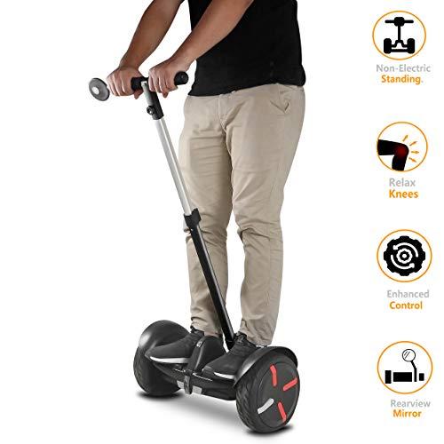 AUBESTKER Handlebars Kit for Segway MiniPRO Segway Ninebot S MiniLITE, Control Speed and Balance, Kids - Elderly - Office Women Men - Safety Upgrade