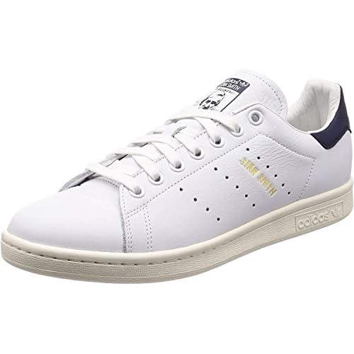 adidas Stan Smith, Scarpe da Fitness Uomo, Bianco (Ftwbla/Ftwbla/Tinnob 000), 44 EU
