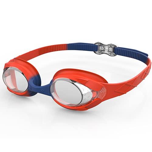 Occhialini da nuoto per bambini da 6 a 14, occhiali da nuoto anti appannamento, lunghezza regolabile per bambini, occhiali da nuoto per ragazzi e ragazze, occhiali da nuoto per bambini