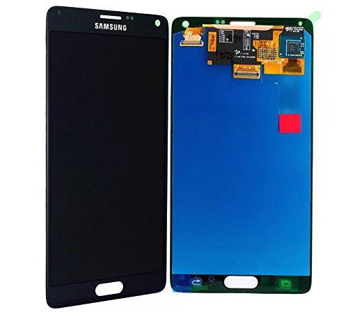 Handyteile24 LCD AMOLED Display Touchscreen für Samsung Galaxy Note 4 SM N910F Schwarz Original Service GH97-16565B